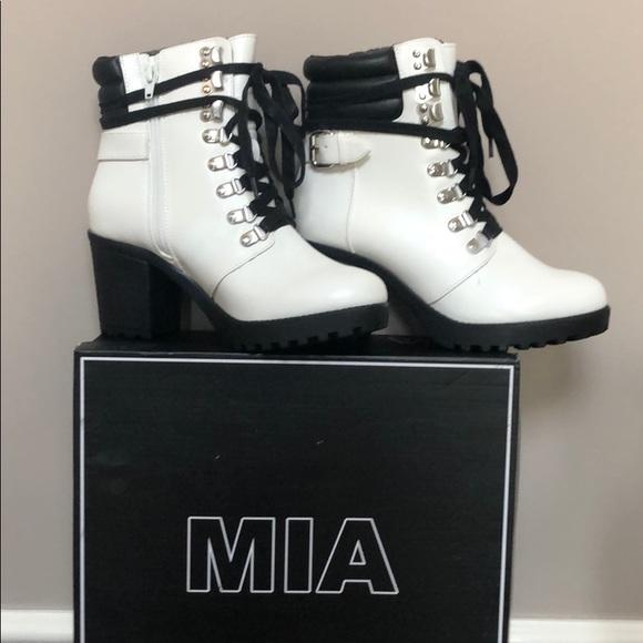 MIA Shoes | Mia Lace Up Boots | Poshmark